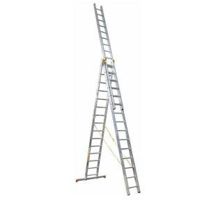 Выбрать в аренду Трехсекционная универсальная лестница (стремянка) iToss 3x15 картинка